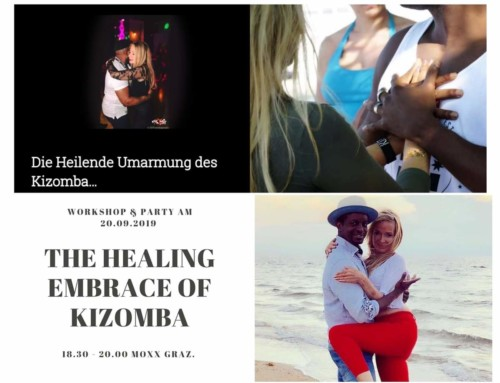 THE HEALING EMBRACE OF KIZOMBAl & DARKROOM DANCING  20.September in GRAZ …